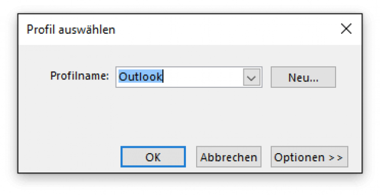 1. Outlook Profil